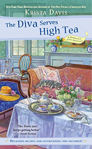book cover of The Diva Serves High Tea
