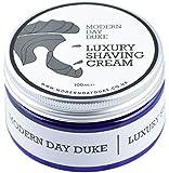 Shaving Cream to reduce irritation - Luxurious Shave Cream by Modern Day Duke with fresh Citrus & Neroli fragrance, the best cream to get rid of shaving bumps, rash and irritation