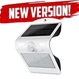 Dual Mode LED Motion Sensor Solar Wall Light. Dusk to Dawn Security Lighting For Outdoors. Ideal for Walkway, Garden, Yard, Deck, Patio, Fence and Outdoor.