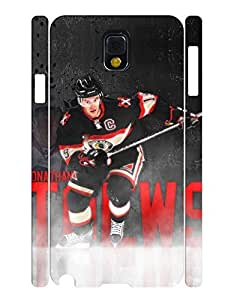 Geometric Collection Mobile Phone Case Powerful Person Ice Hockey Athlete Graphic Solid Case Cover for Samsung Galaxy Note 3 N9005 (XBQ-0196T)