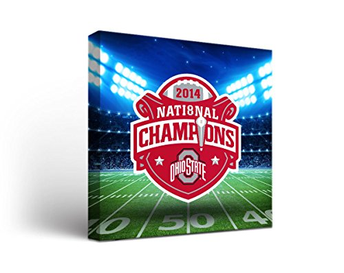picture of Ohio State OSU Buckeyes Canvas Wall Art Stadium Design 2 (24x36)