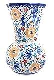 Polish Pottery Butterfly Vase