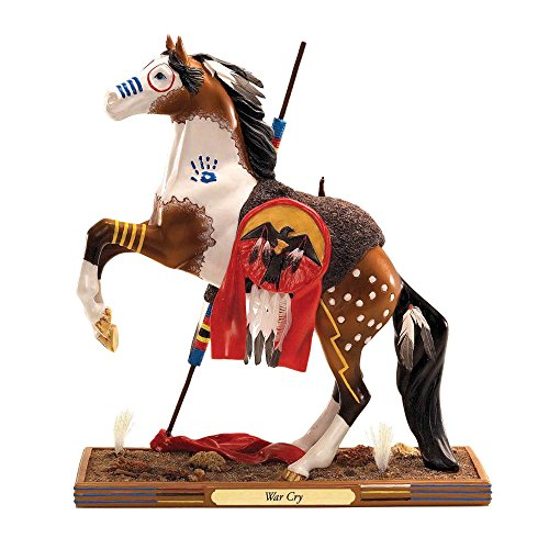 Trail of Painted Ponies Masterpiece Collection Limited Edition War Cry 1E/0698 Stunning Showcase Figurine ()
