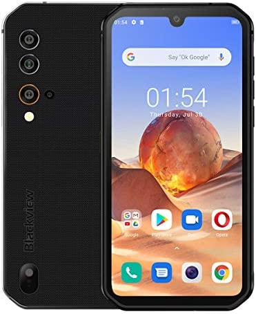 Android 10 Rugged Smartphone,Unlocked Cell Phones Blackview BV9900E(2021), IP68 Waterproof 48MP+16MP Quad Camera 4K Video, 6GB Ram 128GB ROM 5.84'' Screen Dual SIM Global 4G LTE AT&T T-Mobile Black WeeklyReviewer