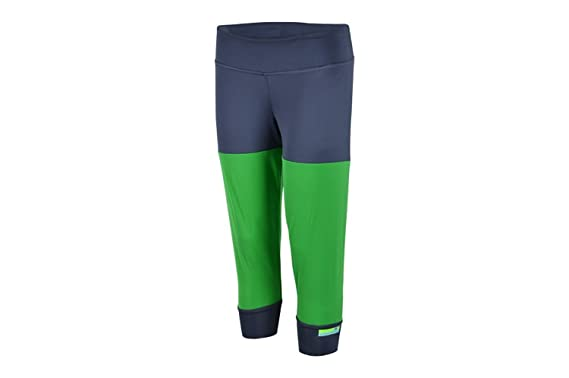 9e163ff6ea668 Image Unavailable. Image not available for. Color: Adidas Women's  Stellasport S21214 Tights, Urban Sky/Real Green