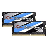 32GB G.Skill 3000MHz DDR4 SO-DIMM Laptop Memory Upgrade Kit (CL16) 1.20V PC4-24000 Ripjaws 2x16GB