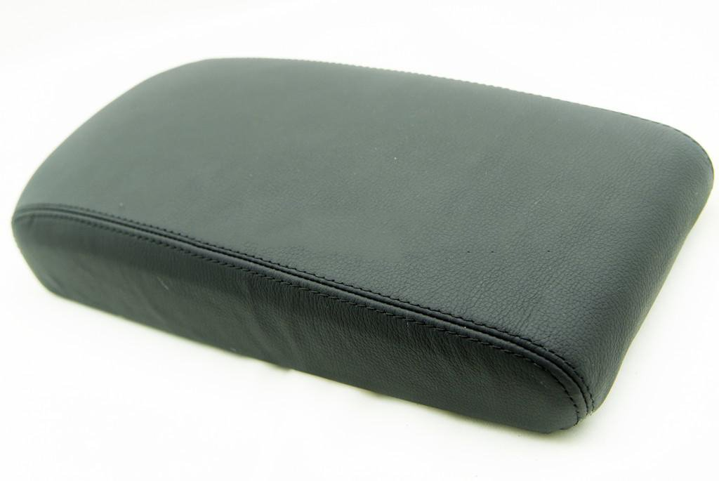 Fits 2009-2014 Nissan Maxima Real Black Leather Console Lid Armrest Cover . Leather Part Only