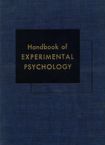 Handbook of Experimental Psychology.