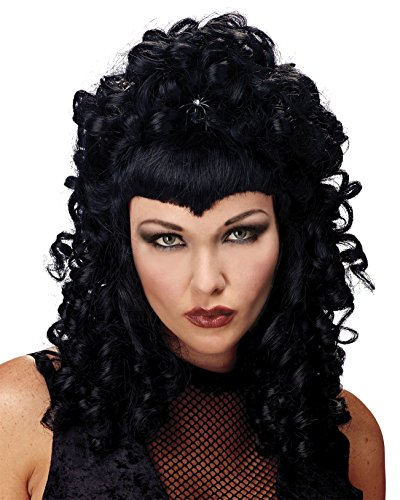 Wig Spider Queen Black Costume Wig