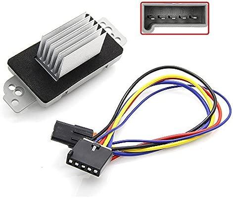 For Chevy Trailblazer GMC Envoy Blower Motor Speed Resistor Harness Pigtail