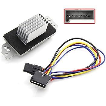 amazon com auto temp control havc blower motor resistor with wiring rh amazon com