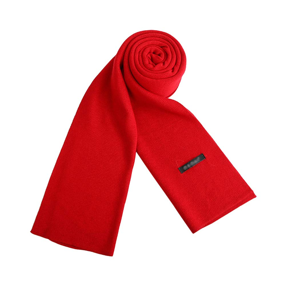 Doitsa 1Pcs Men Scarves Thick Knitted Wool Warm Autumn and Winter Clothing Accessory Scarf