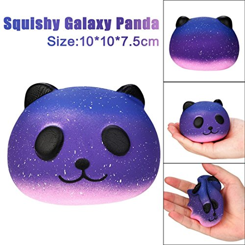 HANYI Stress Relief Toys For Kids With Adhd, Squeeze-Therapy-Sensory-Squishy-Educational (Panda) ()