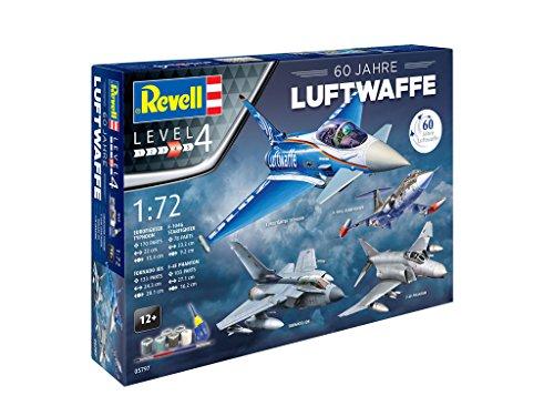 Revell 05797 - Geschenkset 60 Jahre Luftwaffe im Maßstab 1:72