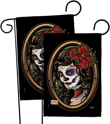 Angeleno Heritage GP137086-BOAE La Calavera Catrina Fall Halloween Impressions Decorative Vertical 13
