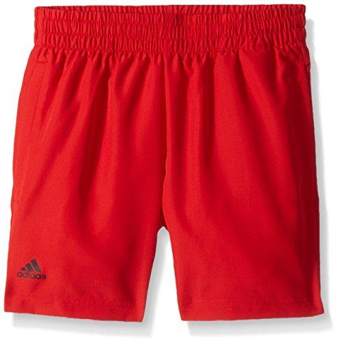adidas Youth Tennis Boys Club Short, Scarlet, Large