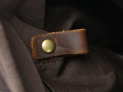 Batik Size 91110106ma0064bl22 Imperméable M Sac Canvas Brass L'eau color Pour Rétro Brass À Dos Hommes qrXS7raw