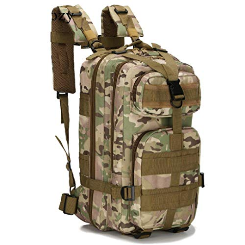City Adventure Casual Oxford - Outdoor Camping&Hiking Backpack Hunting Travel Rucksack Nylon Waterproof Military Tactical Bags CP Camouflage Other