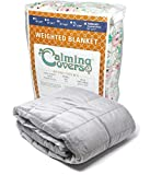 The Swanky Stitchery Designer Weighted Blanket for kids (or adult) | Dozens of cute styles in many sizes | Gravity blankets may help relieve anxiety, stress & insomnia | Style - Gray | Minky - 3 lbs