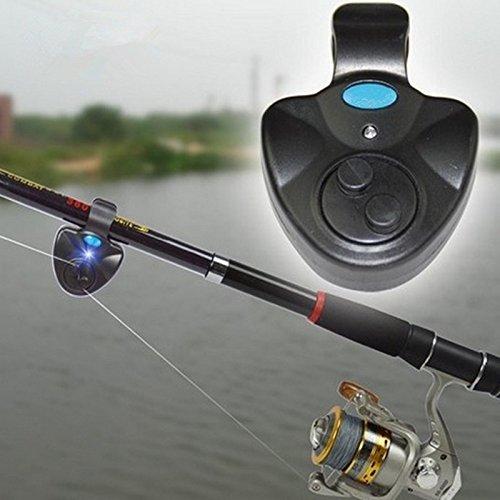 [Electronic Fishing Bite Alarm Indicator LED Sound Alert on Fishing Rod with Loud Siren Daytime/ Night Carp Fishing Outdoor] (Crawfish Costumes)