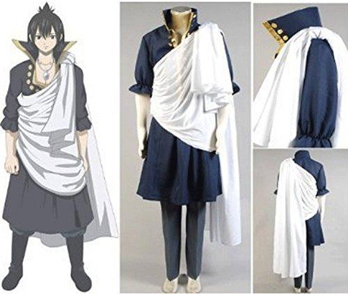 [Relaxcos Fairy Tail Zeref Cosplay Costume] (Zeref Cosplay Costume)