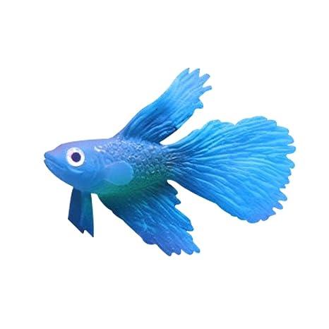 luyide simulación peces acuario Decoración Para Cute oro tanque de peces Multicolor