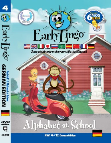 Early Lingo Alphabet at School DVD (Part 4 German) from Early Lingo