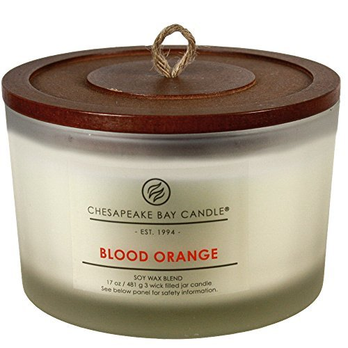 Chesapeake Bay Candle Heritage Collection Coffee Table Jar Candle, Blood Orange by Chesapeake Bay (Heritage Collection Cocktail Table)