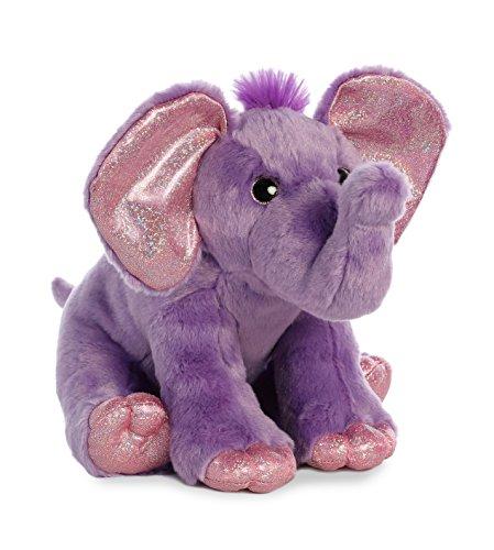 Aurora World Destination Nation Plush Elephant, - Purple Elephant