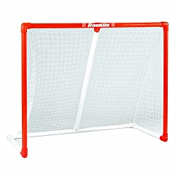 Franklin Sports Nhl Sx Pro 50-inch Innernet Pvc Goal Without Top Shelf, 50-by-42-inch