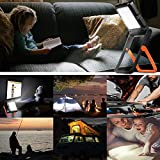 2 Pack Neporal Portable LED Work Light Solar and