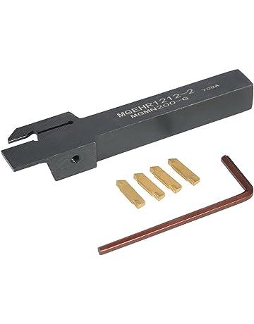 KKmoon 4 pcs/caja MGMN200 carburo Inserts + 12 * 100 mm Mgehr1212 – 2