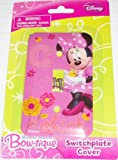 Disney Minnie Mouse Bow-tique Switchplate Cover - Baby Nursery Kids Bedroom Light Switch Wall Decor