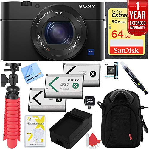 Sony Cyber-Shot DSC-RX100 III 20.2 MP Digital Camera with 1