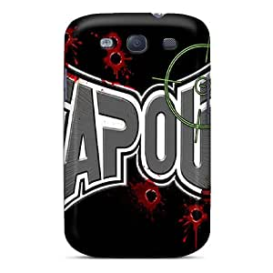 Samsung Galaxy S3 ECP10139vQQL Special Colorful Design Tapout Pattern Shock Absorption Hard Cell-phone Cases -MansourMurray
