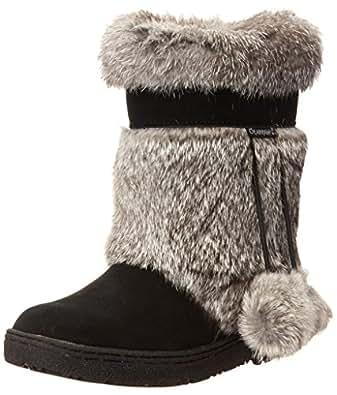 "BEARPAW Women's Tama 9"" Snow Boot,Black,5 M"