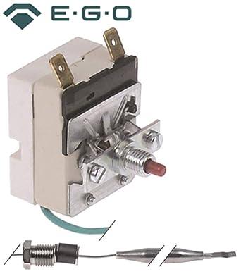 Seguridad Termostato EGO para olla de lavavajillas, de cinta lavavajilla térmica, armario