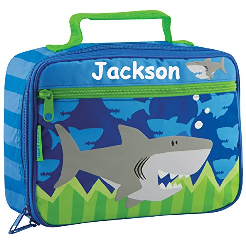 Personalized Stephen Joseph Shark Themed Lunch Box With Name (Personalized Lunch Box)