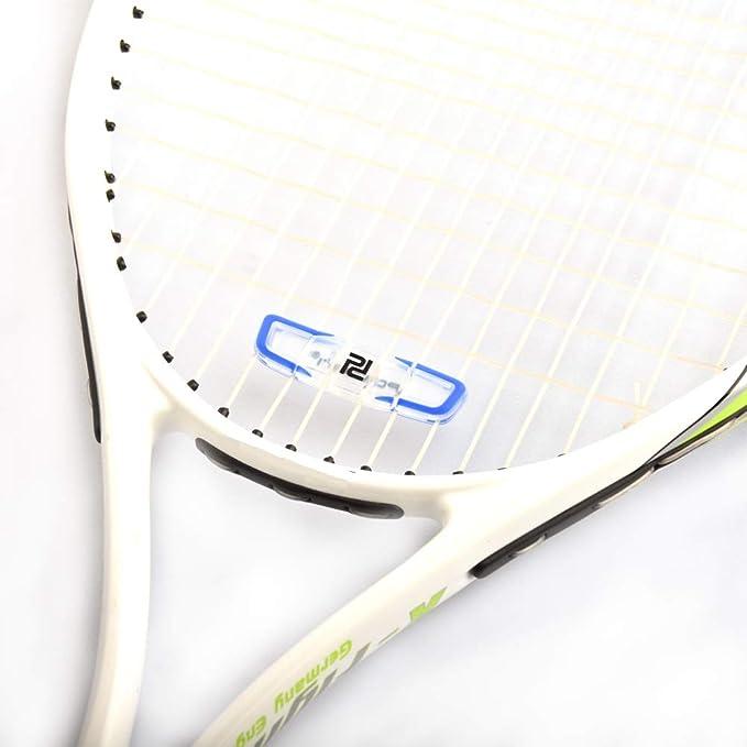 Gelb, Blau, Orange und Rot POWERTI Tennis-Vibrationsd/ämpfer-Set von 12 Sto/ßd/ämpfern f/ür Tennissaiten Premium-langlebig und langlebig