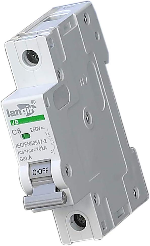Langir non polaris/ées miniature Disjoncteur commutateur Voltage protection pour DC et solaire g/én/ération avec TUV certificats
