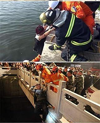 Rettungsleiter WGE Notausstieg Strickleiter 15 m Notfallleiter 49 Fu/ß Fluchtleiter. weicher Leiter