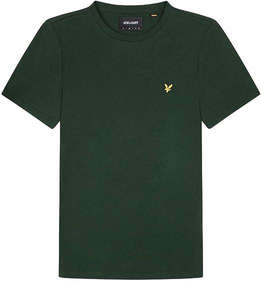Blanc Lyle /& Scott 3-Pack à encolure ras-du-cou T-shirts Hommes