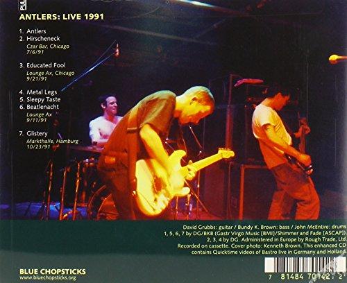 Antlers: Live 1991 by Blue Chopsticks (Image #1)