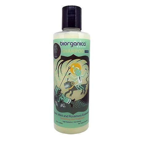 Shampoo Orgánico con Alta Concentración de Aceite Esencial de Romero y  Menta Biorganica Bacab 250 ml  Amazon.com.mx  Salud d4287acde546