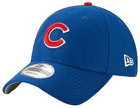 0524b825fc9258 New Era 2019 MLB Chicago Cubs Baseball Cap Hat ALT Bat Practice 9Twenty  Royal Blue at Amazon Men's Clothing store:
