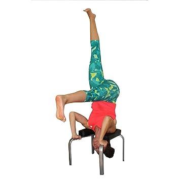 Xbswhm Silla Auxiliar De Yoga Invertida, Reposacabezas De ...