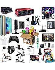 Mystery Box, Mystery Box Electronics Lucky Box Kan Worden Geopend: De Nieuwste Mobiele Telefoons, Drone, Slimme Horloges, Het Beste Cadeau Voor Vakanties