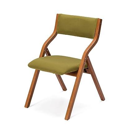 Silla Plegable Sillas Plegables de Madera Maciza Mesas y sillas de ...