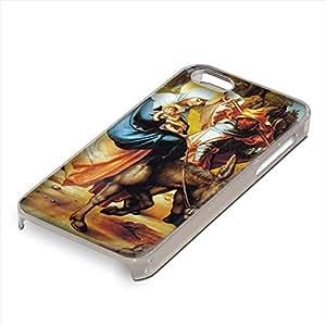 Durer - The Seven Mary S Pain-Flight Into Egypt, Custom Claro PC Ultradelgado Caso Duro Carcasa Funda Protección Tapa Hard Case Cover Shell con Diseño Colorido para Apple iPhone 5 5S.