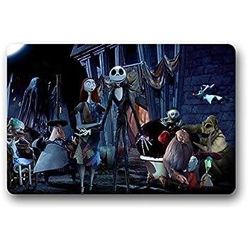 Amazon.com: Custom Happy Nightmare Before Christmas Welcome Door ...